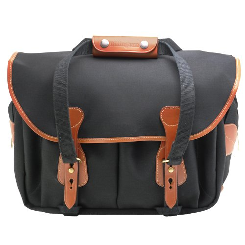 Cheapest Price for Billingham 225 Canvas Bag for Camera – Black/Tan
