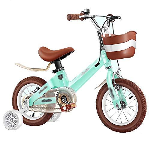 RTMJUNMA Bicicleta Plegable de 12-16 Pulgadas