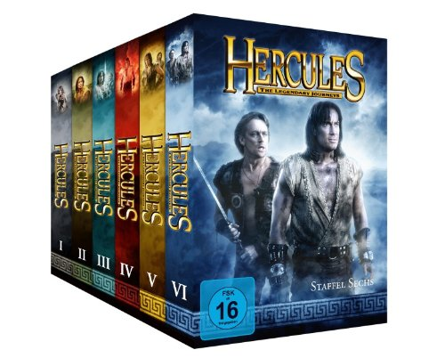 Hercules: The Legendary Journeys - Komplett-Package, Staffel 1-6 [34 DVDs]