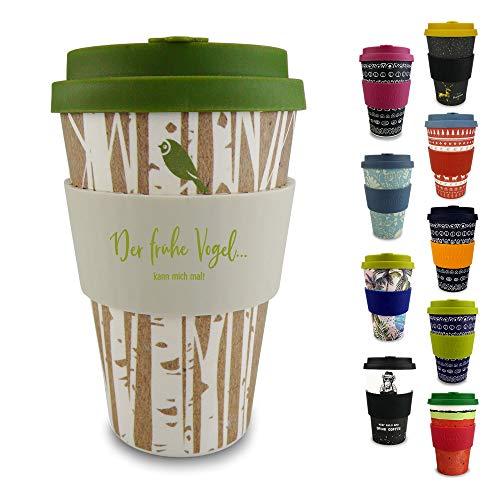 Morgenheld  Dein trendiger Bambusbecher | umweltfreundlicher Coffee-to-Go-Becher | nachhaltiger...