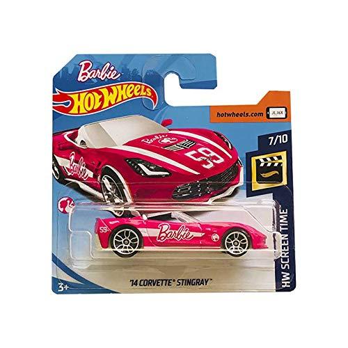 Hot Wheels Barbie '14 Corvette Stingray HW Screen Time -