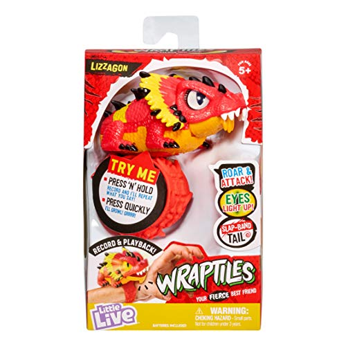Little Live Wraptiles S1 AST 2 Lizzagon (Red)