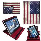 OLD LOOK USA Flagge Tablet Tasche Schutz Hülle für 10 Zoll Jay-Tech / CANOX Tablet PC 101
