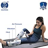 #8: JSB HF66 Leg Massager for Foot Calf Pain Relief with Heat & Air Compression
