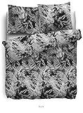 HNL Biber Bettwäsche - Buck Grey 135/200+1x80x80