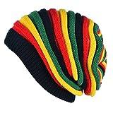 OULII Berretto in maglina lavorato a maglia Berretto in lana a maniche  lunghe in lana colorata Cappellino invernale da sci per donna   829a235832e7