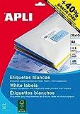 APLI 13883 - Etiquetas blancas imprimibles