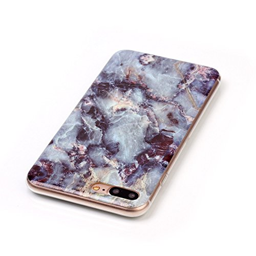 iPhone 7 Plus Bling Diamant Cœur Etui Housse Coque,iPhone 7 Plus Bling Coque,iPhone 7 Plus Transparente Coque,iPhone 7 Plus Plastique Etui Transparent Diamant Housse Coque Hard,iPhone 7 Plus Clear Coq G Marble 1