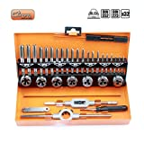 Filettatura Schneider Set 32 PZ. M3-M12 metrico filettatura femmina Filettatura Maschio Filettatura Gauge