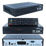 HD Sat Receiver digitaler Satelliten-receiver NOKTA-1461 HD (HDTV,DVB-S/S2, HDMI, 2x USB 2.0, Full HD 1080p,) [vorprogrammiert für Astra Hotbird Türksat ]