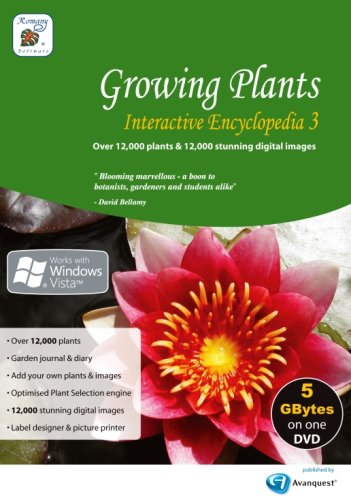 Price comparison product image Growing Plants Interactive Encyclopedia 3 (PC)