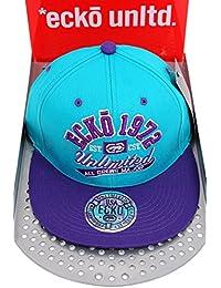 Ecko unltd–Unlimited tous les Équipages Peak Plat majeure de baseball casquette Snapback