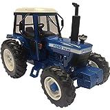 Britains - Tractor Ford TW20, color azul, blanco y negro (TOMY 42840)