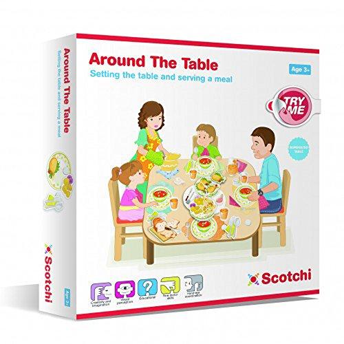 Halilt Scotchi Around The Table Educational Toy (Se distribuye desde Reino Unido)