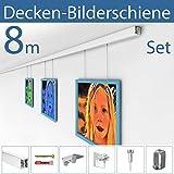 STRÜSSMANN® Decken Bilderschienen Set | D200 | an jeder Decke montierbar