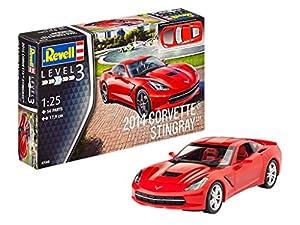 Revell Revell-2014 Maqueta 2014 Corvette Stingray, Kit Modelo, Escala 1:25 (07060), 17,9 cm de Largo