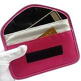 Scelet Clé de Voiture FOB Signal Blocker Case Keyfob RFID Signaux Blindage Poche Cage Wallet Antivol