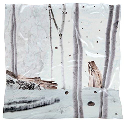 seidentuch-silent-winter-wood-luxusaccessoire-tuch-schal-100-seide-blau-grau-wald-winter-schnee-140x