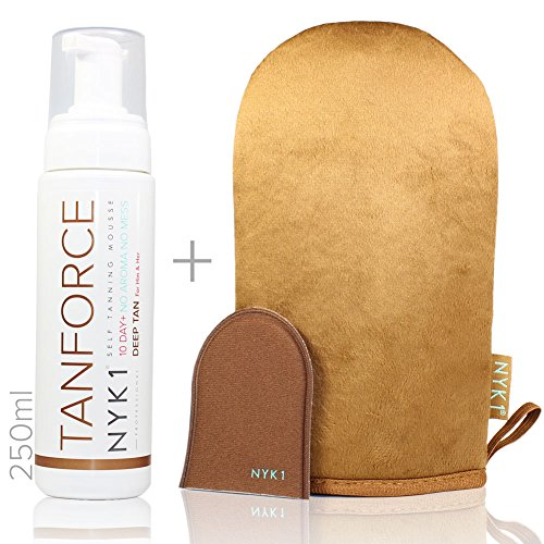 nyk1-tanforce-with-nyk1-megamitt-invisible-odourless-self-tanning-deep-tan-force-fake-developing-ski