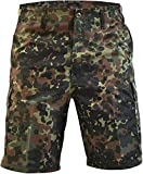 normani Kurze Bermuda Shorts US Army Ranger Feldhose Arbeitshose S - XXXL Farbe Flecktarn Größe S