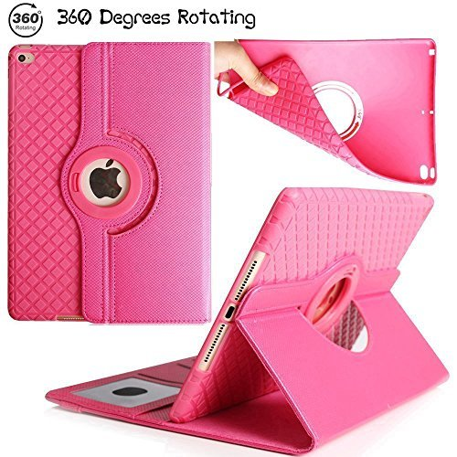 iPad Air 2 Protective TPU Cover, Multi Function Screen Protective Cover,Sammid PU...