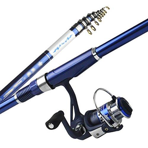 Pesca mazhong canna carbonio ultra leggera e super dura mano-mare doppio utilizzo 2.7-6.3 metri (dimensioni : 6.3m)