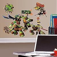 RoomMates Repositionable Children's Wall Stickers - Teenage Mutant Ninja Turtles preiswert
