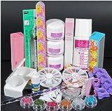 kit de uñas Vovotrade Cepillo para uñas uv, esmaltes para uñas en gel, acrilicos de uñas organic