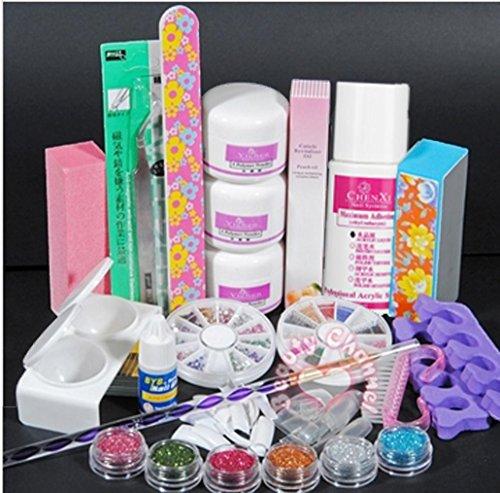 kit de uñas Vovotrade Cepillo para uñas uv, esmaltes para uñas en gel, acrilicos de uñas