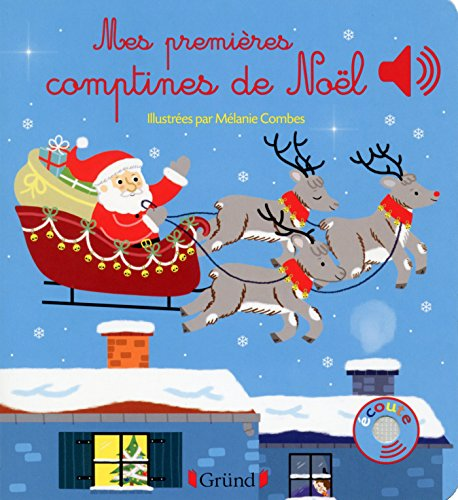 Mes premières comptines de Noël (Mes premiers livres sonores) (French Edition)