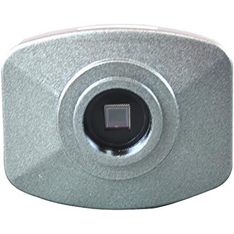 Radical professionale scientifica 5Mega Pixel CMOS fotocamera con struttura in metallo personalizzato Adattatore ottico per qualsiasi Fotocamera Microscopio E Software Di Controllo E misurazione - Corrente Ellittica
