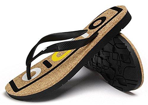 2017 marea lettere stampate alfabeto trascina quotidianamente casual beach sandali scarpe da uomo 2