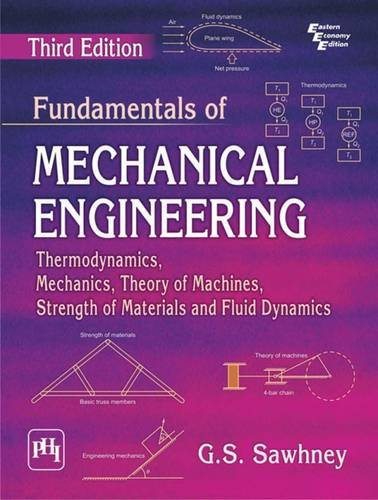 Fundamentals of Mechanical Engineering: Thermodynamics, Mechanics, Theory of Machines, Strength of Materials and Fluid Dynamics
