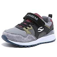 HOBIBEAR Kids Trainers Boys Girls Sports Running Shoes Lightweight Fashion Sneaker(Toddler/Little Kid/Children/Big Kid), Dark Grey, 10.5 UK Child-29 EU (CN 30)
