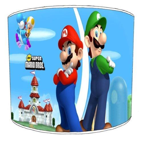 Premier Lampenschirm Decke Super Mario Bros Für Kinder Lampenschirm, blau, 30,5cm