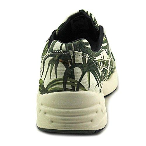 "Puma Mens R698 Evo X Hoh Palm ""casa di Hackney"" / tela bianca verde White-Green"