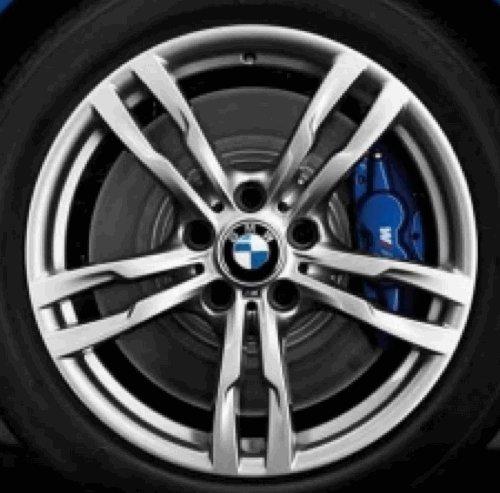Cerchi in lega originali BMW Serie 3F30F31m doppi raggi 441a 45,7cm