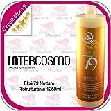 INTERCOSMO Elixir79 Nettare Ristrutturante 1250ml Balsamo per Capelli Opachi e Danneggiati