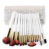 GUO Spazzola fondazione sacchetto portatile 15 principiante sezione cava accomodante spazzole composizione bianca