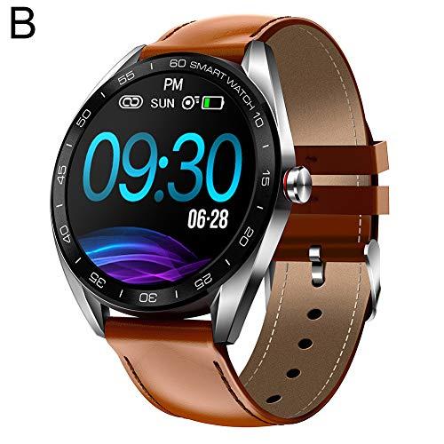 9302sonoaud K7 Smart Bracelet Monitoraggio della frequenza cardiaca con Orologio da Polso Intelligente B