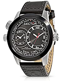 sector Herren  Armbanduhr   Oversize Dual Time R3251102125