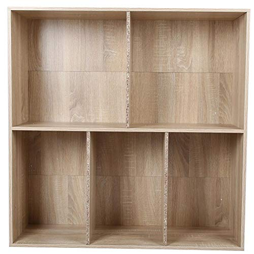 Zoternen - Mueble de almacenaje con 5 cajones de Madera, estantería de...