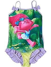Trolls Chicas Traje de baño - púrpura