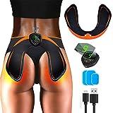 EGEYI EMS Hips Electroestimulador Muscular,Gluteos Estimulador de Glúteos Herramientas Nalgas HipTrainer para la Cadera Mujer USB Recargable,Estimulador Muscular Ejercitar Gluteos, Hombre y Mujer