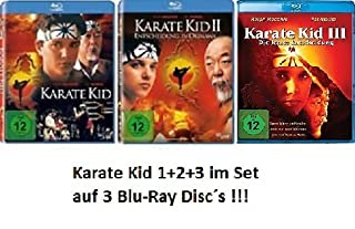 3 Blu-Rays - Karate Kid 1+2+3 im Set - Deutsche Originalware [3 Blu-rays]