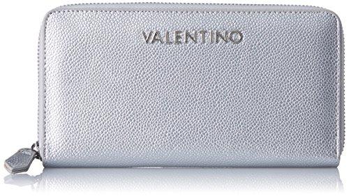 Mario Valentino Valentino by Damen Divina Geldbörse, Silber (Argento), 2.2x11.0x19.5 cm