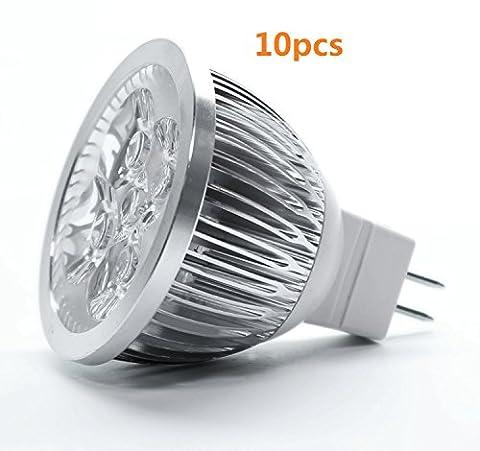 Ampoule spot LED MR1612V 4W 440LumensFaisceau 60°