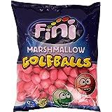 Fini Marshmallow Cubierto De Azúcar Sabor Fresa - Paquete De 125 Unidades