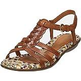 Hush Puppies Flat Sandals Nishi Strap Tan