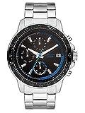 s.Oliver Herren Multi Zifferblatt Quarz Uhr mit Edelstahl Armband SO-3486-MM